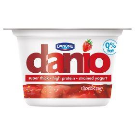 Grocemania Grocery Delivery London| Danone Danio 0% Strawberry 150g