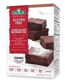 Grocery Delivery London - Organ Chocolate Brownie Mix same day delivery