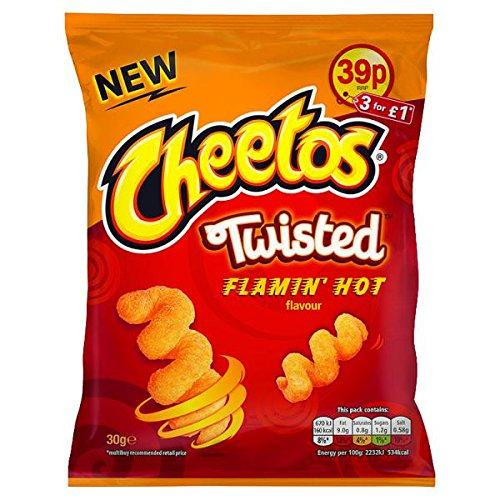Grocemania Grocery Delivery London| Cheetos Twisted Flamin' Hot 30g