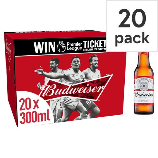 Grocemania Grocery Delivery London| Budweiser 20x300ml