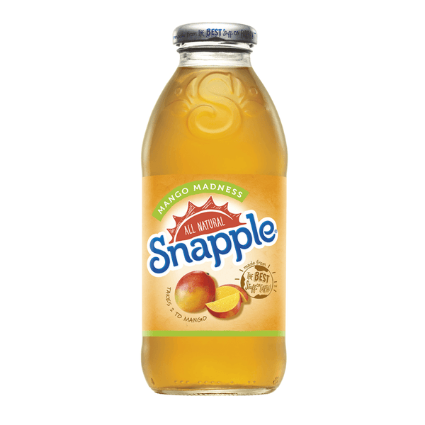 Grocery Delivery London - Snapple Mango 473ml same day delivery
