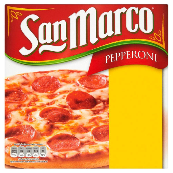 Grocery Delivery London - San Marco Pepperoni Pizza 251g same day delivery
