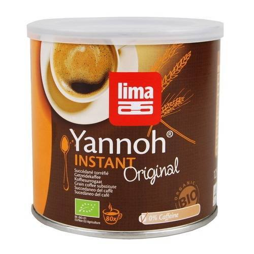 Grocemania Grocery Delivery London| Lima Yannoh Instant Coffee Alternative 125g