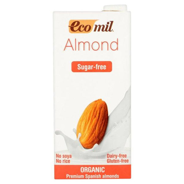 Grocemania Grocery Delivery London| Ecomil Sugar Free Natural Almond Drink 1L