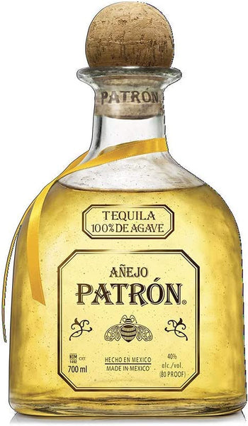 Grocery Delivery London - Patron Anejo Gold 70cl same day delivery