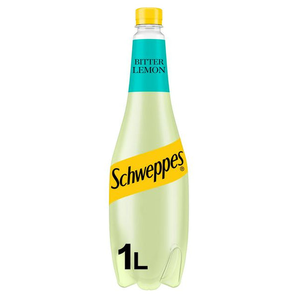 Grocery Delivery London - Schweppes Bitter Lemon 1L same day delivery