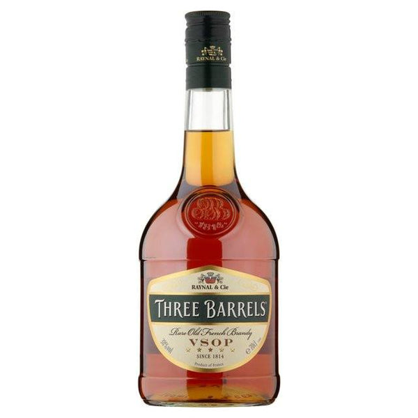 Grocemania Grocery Delivery London| Three Barrels Brandy 70cl