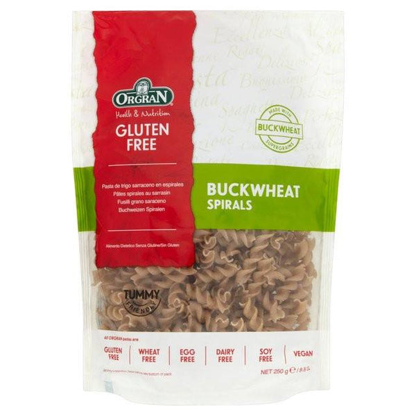 Grocemania Grocery Delivery London| Gluten Free Buckwheat Spirals 250g