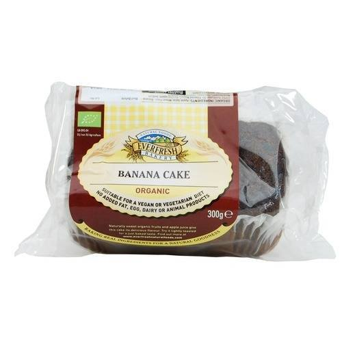 Grocemania Grocery Delivery London| Everfresh Organic Banana Cake 300g