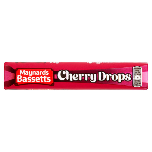 Grocery Delivery London - Maynards Cherry Drops 4pk same day delivery