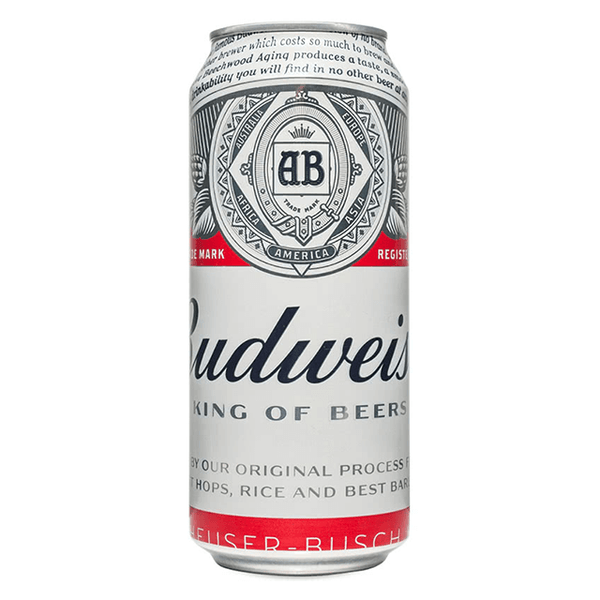 Grocery Delivery London - Budweiser 500ml same day delivery