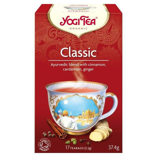 Grocery Delivery London - Yogi Tea Classic 17 bags same day delivery