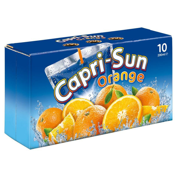 Grocery Delivery London - Capri-Sun Orange 5X200ml same day delivery