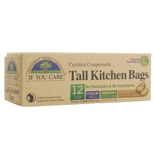 Grocemania Grocery Delivery London| If You Care Tall Kitchen Bags