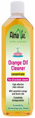 Grocemania Grocery Delivery London| AlmaWin Orange Oil Cleaner Concentrate 500ml