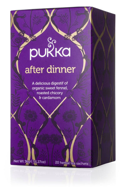 Grocery Delivery London - Pukka After Dinner Tea 20 Sachets same day delivery