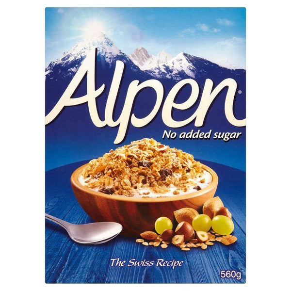 Grocery Delivery London - Alpen No Added Sugar 560g same day delivery
