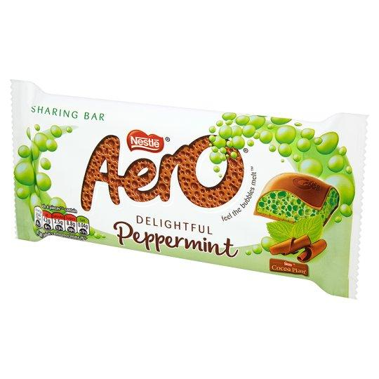 Grocemania Same Day Grocery Delivery London | Aero Peppermint 100g