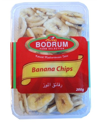 Grocemania Grocery Delivery London| Bodrum Banana Chips 200g