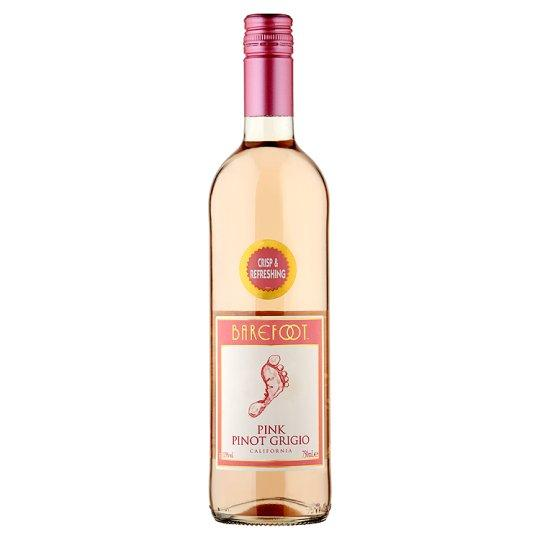 Grocery Delivery London - Barefoot Pink Pinot Grigio 750ml same day delivery