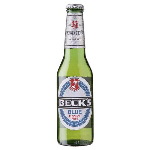 Grocery Delivery London - Becks Blue Alcohol Free 275ml same day delivery
