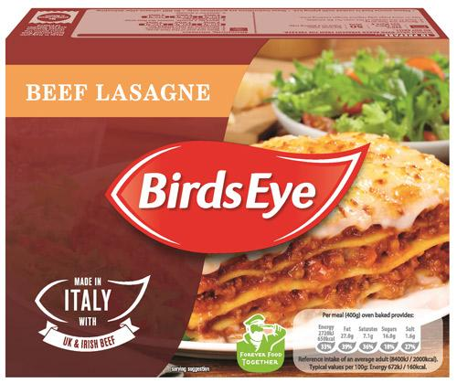 Grocery Delivery London - Birds Eye Beef Lasagne 400g same day delivery
