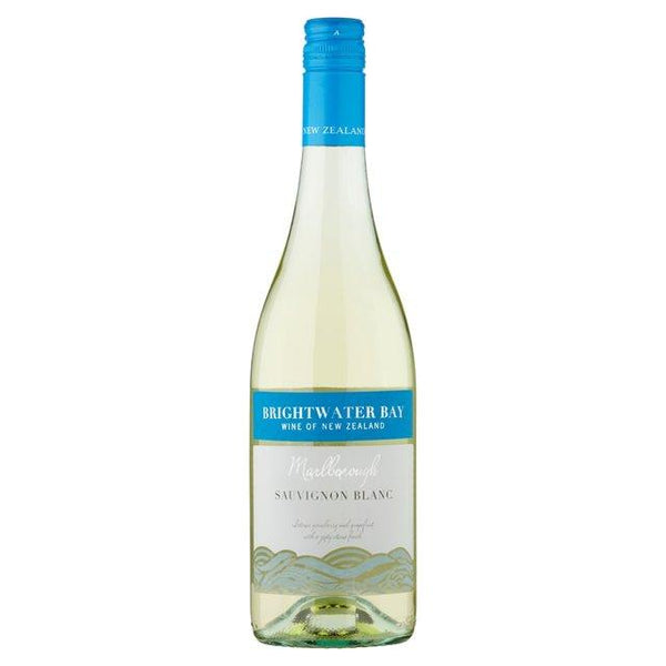 Grocery Delivery London - Brightwater Bay Marlborough Sauvignon Blanc - New Zealand 750ml same day delivery