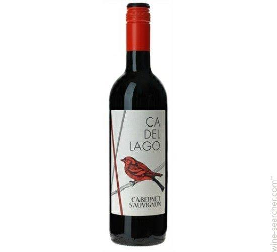 Grocery Delivery London - Ca Del Lago Cabernet Sauvignon - Italy 750ml same day delivery