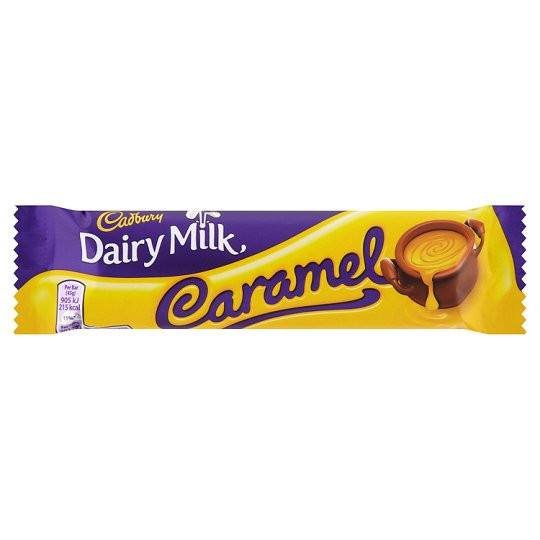 Grocery Delivery London - Cadbury Dairy Milk Caramel 45g same day delivery