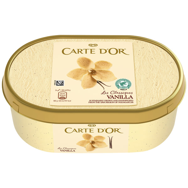 Grocery Delivery London - Carte Dor Vanilla 500g same day delivery