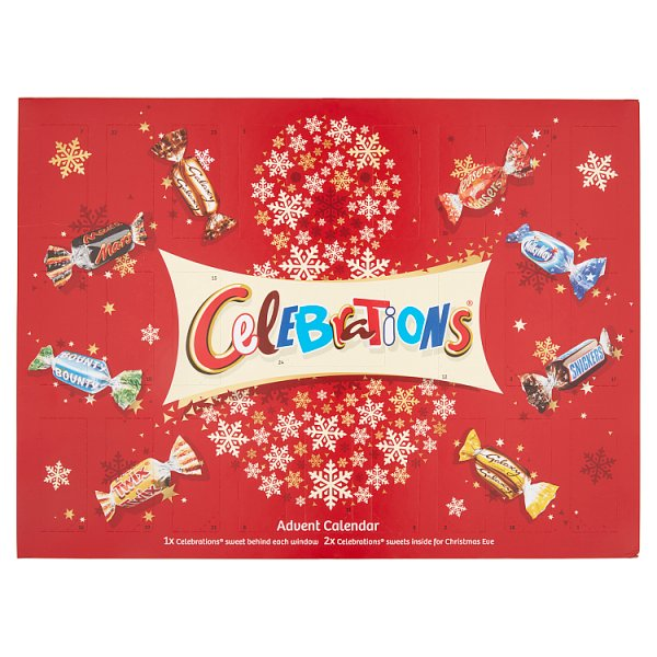 Grocery Delivery London - Celebrations Advent Calander 230g same day delivery