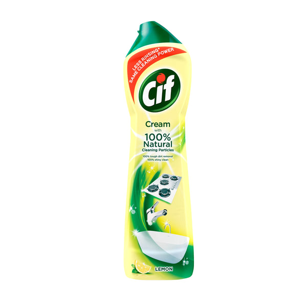 Grocery Delivery London - Cif Cream Lemon 500ml same day delivery