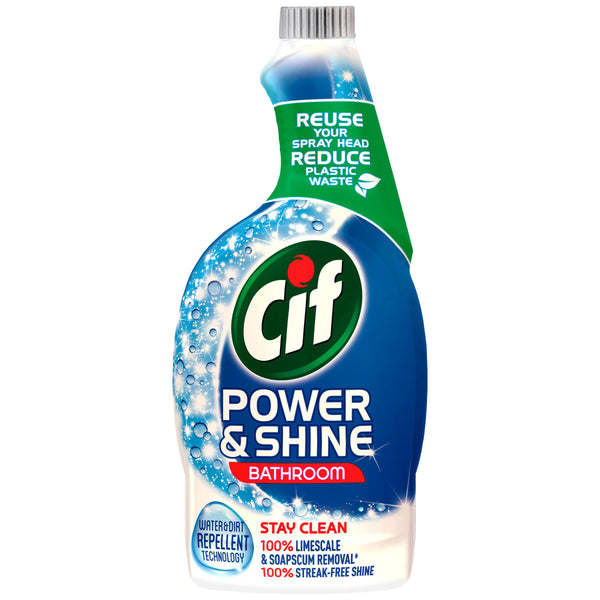 Grocery Delivery London - Cif Power & Shine Bathroom Trigger 700ml same day delivery