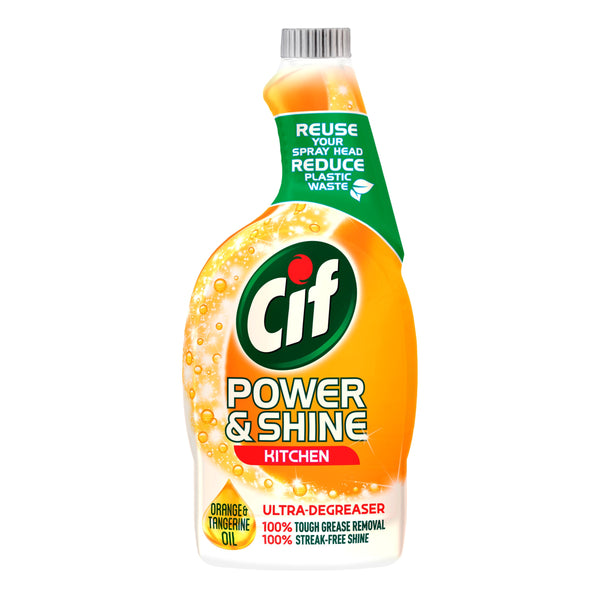 Grocery Delivery London - Cif Power & Shine Kitchen Trigger 700ml same day delivery