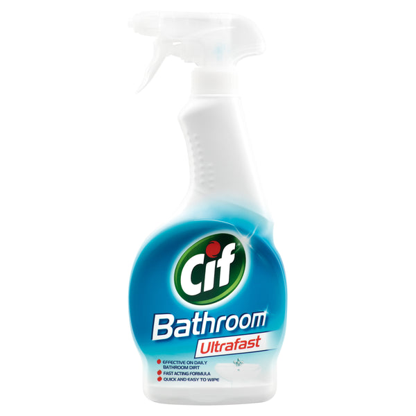 Grocery Delivery London - Cif Ultrafast Bathroom Spray 700ml same day delivery