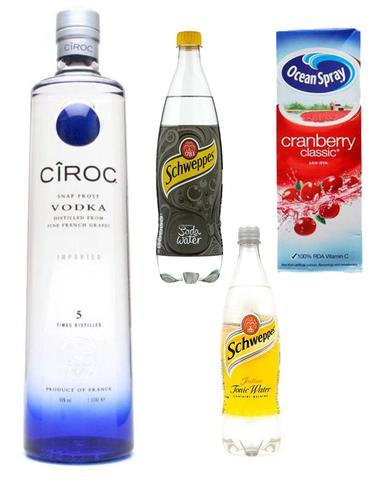 Grocemania Grocery Delivery London| Ciroc Party Pack