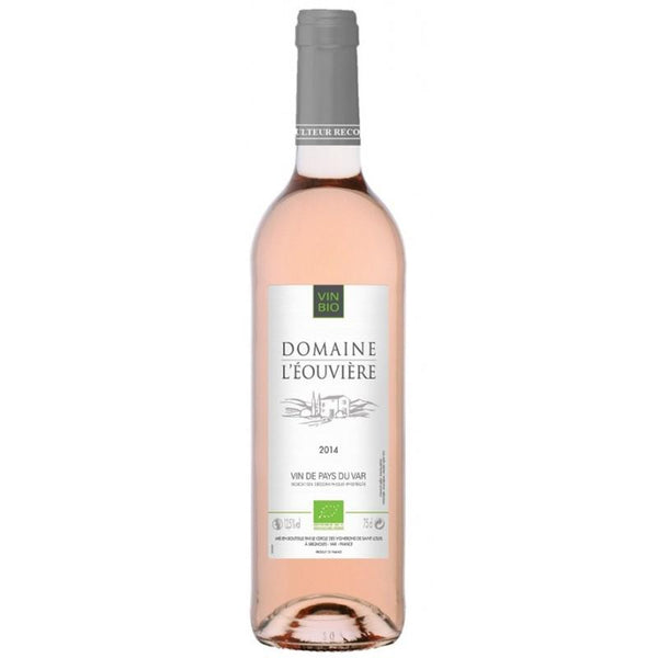 Grocery Delivery London - Domaine De L'Eouvière Rose Vin De Pays Du Var - France 750ml same day delivery