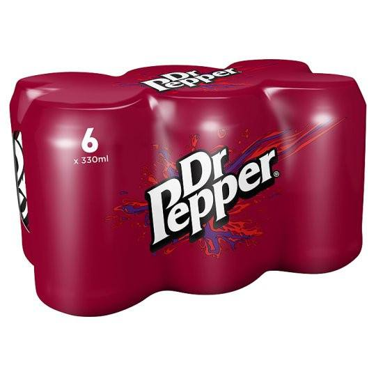 Grocery Delivery London - Dr Pepper 6X330ml same day delivery