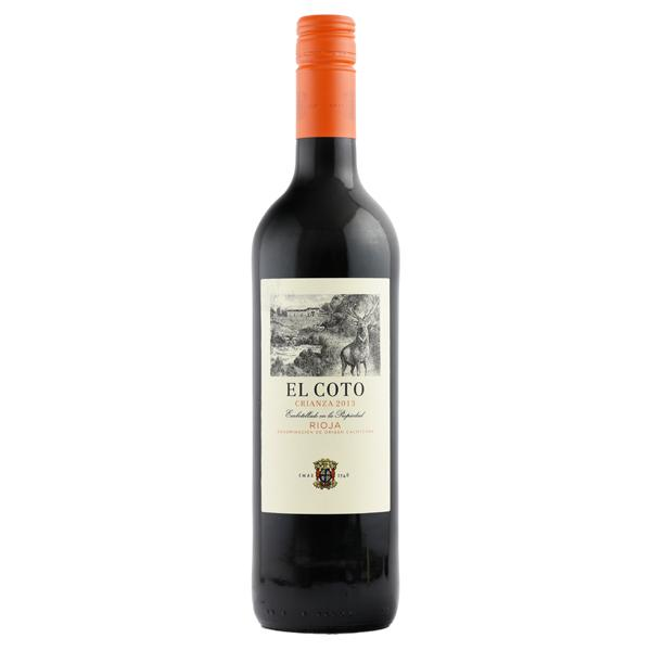 Grocery Delivery London - El Coto Crianza Rioja - Spain 750ml same day delivery