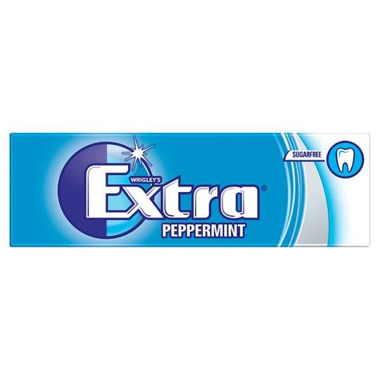 Grocemania Grocery Delivery London| Extra Peppermint Gum 10 Pieces 14g