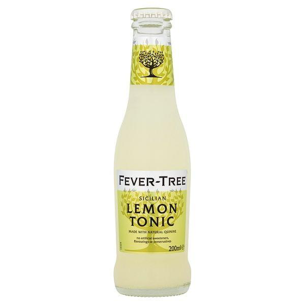 Grocery Delivery London - Fever Tree - Sicilian Lemon Tonic 200ml same day delivery