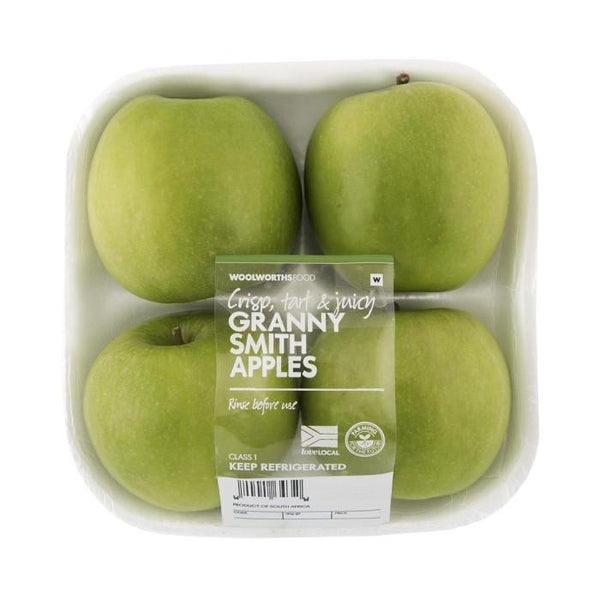 Grocery Delivery London - Green Apples 4pk same day delivery