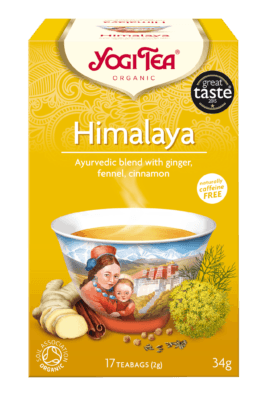 Grocery Delivery London - Yogi Tea Himalaya 17 bags same day delivery