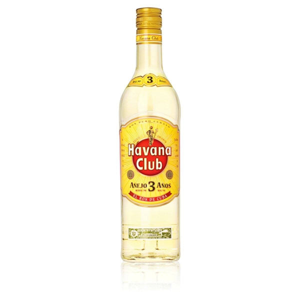 Grocemania Grocery Delivery London| Havana Club 3 Year Old Rum 700ml