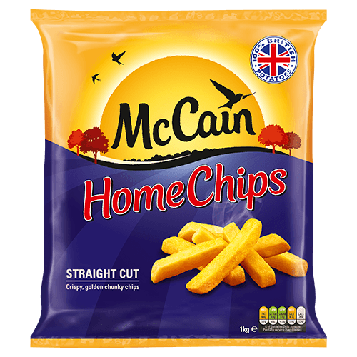 McCain Home Chips Straight Cut 900g - Grocemania