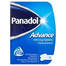 Grocemania Grocery Delivery London| Panadol Advance 16 Capsules