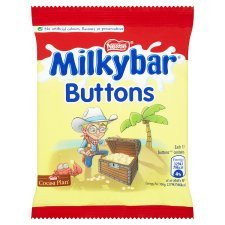 Grocery Delivery London - Milkybar White Chocolate Buttons Bag 30g same day delivery