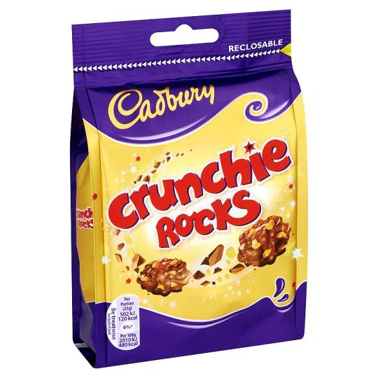 Grocemania Grocery Delivery London| Cadbury Crunchie Rocks 110g
