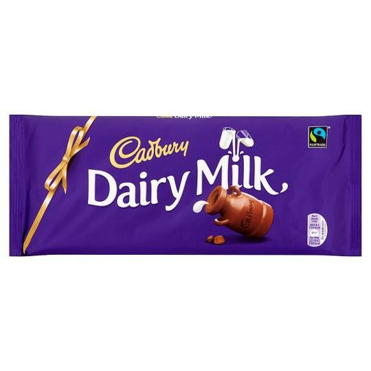 Grocery Delivery London - Cadbury Dairy Milk 100g same day delivery