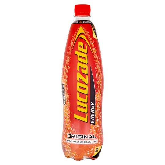Grocemania Grocery Delivery London| Lucozade Energy Original 1L